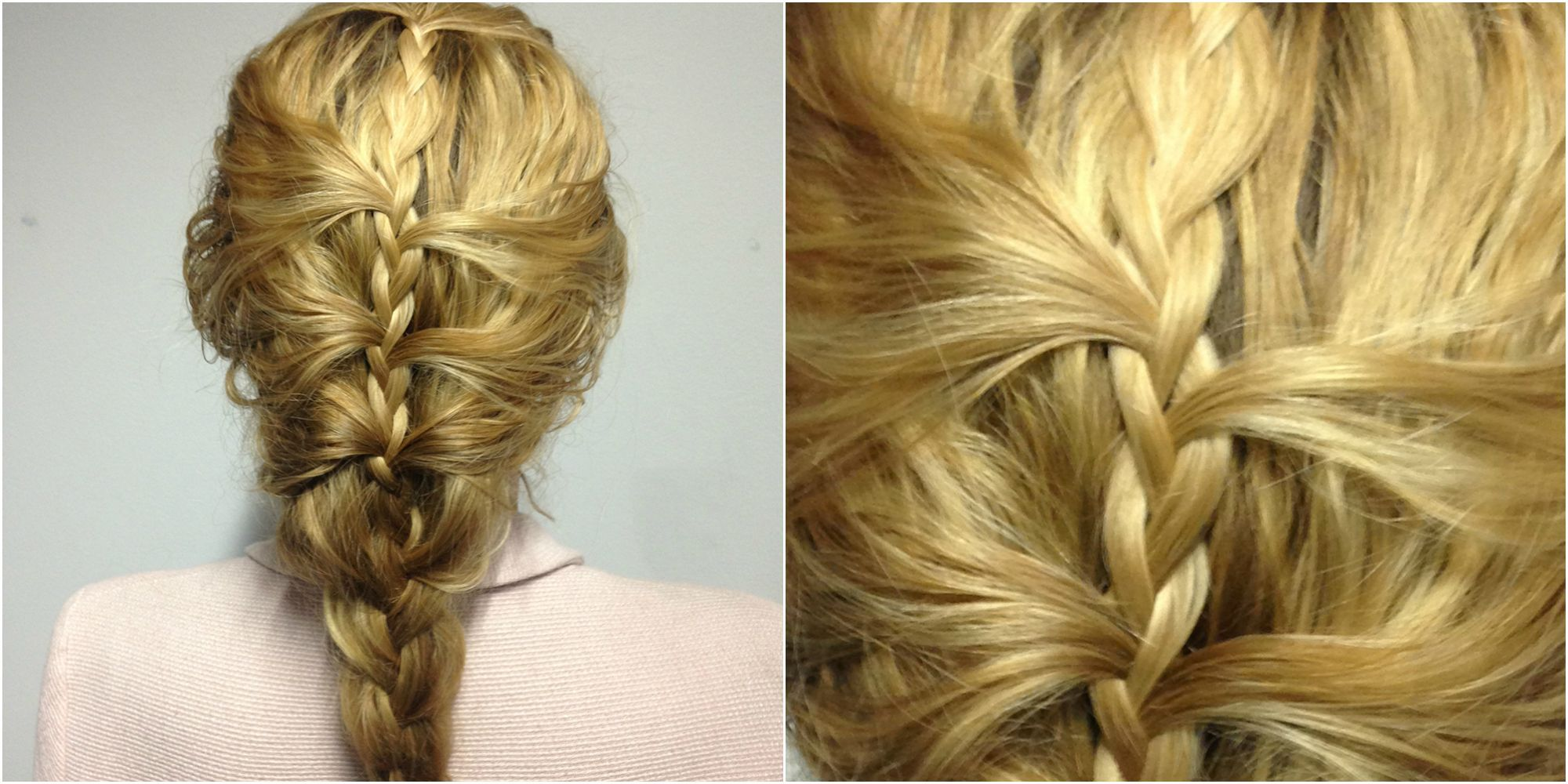 How To Fake Thick Hair With A Seriously Pretty Hairline French Braid