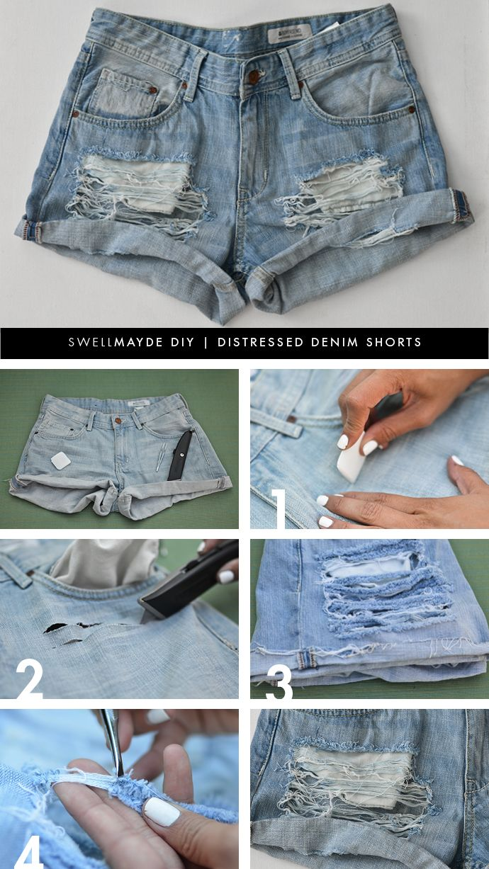 Denim hacks: how to DIY your denim jeans