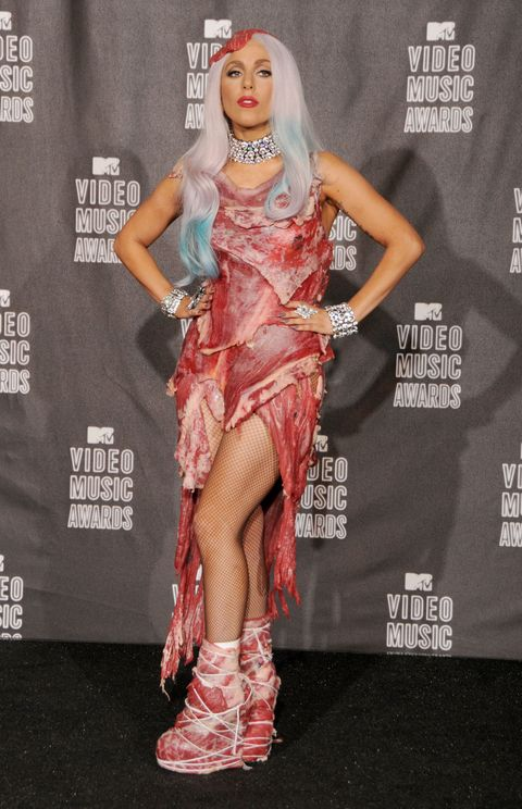Lady Gaga's meat dress still exists and this is what it looks like