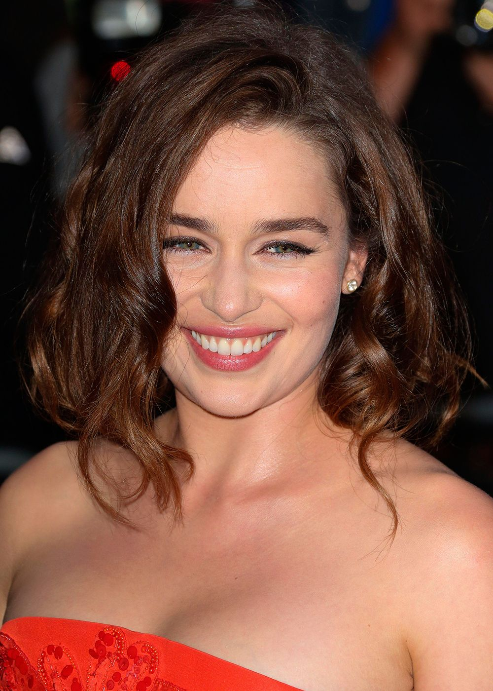 Emilia Clarke Gives Us A First Look At Her Platinum Blonde