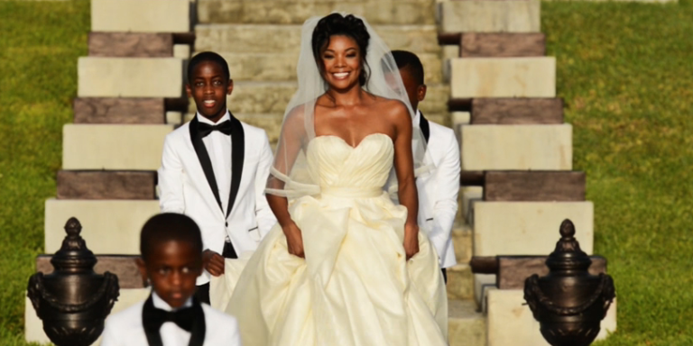 Gabrielle Union turned her wedding video into a rom-com  Gabrielle Union Wedding Pictures