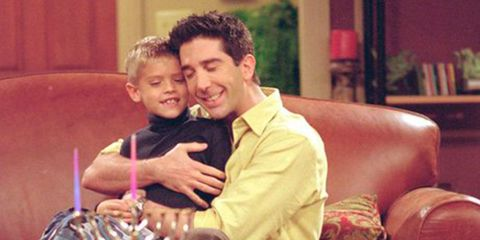 This fan theory about Ben and Ross from Friends is too sad