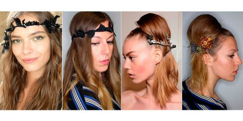 How to make hair accessories from the catwalk actually wearable