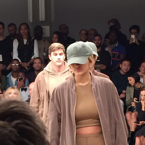 Kylie Jenner walks for Kanye West again at New York Fashion Week