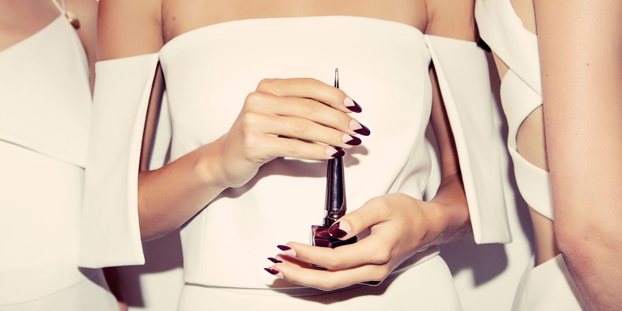 Louboutin nail art, Cushnie Et Ochs SS/16 show