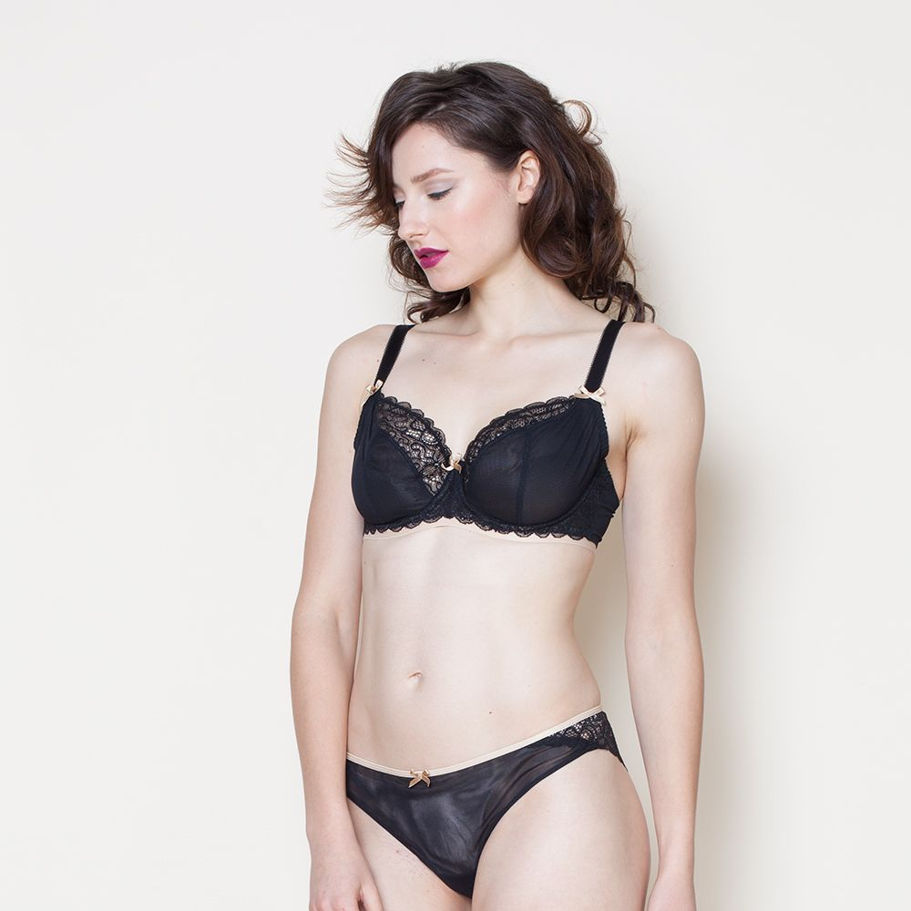 """<a target=""""_blank"""" href=""""http://www.very.co.uk/curvy-kate-ellace-balcony-bra/1460046414.prd"""">Bra</a>, £32, and <a target=""""_blank"""" href=""""http://www.very.co.uk/curvy-kate-ellace-brazilian-briefs/1460046422.prd?crossSellType=item_page.recs_1"""">briefs</a>, £16, both Very"""