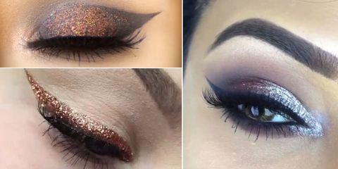 Best glitter eye makeup tutorials