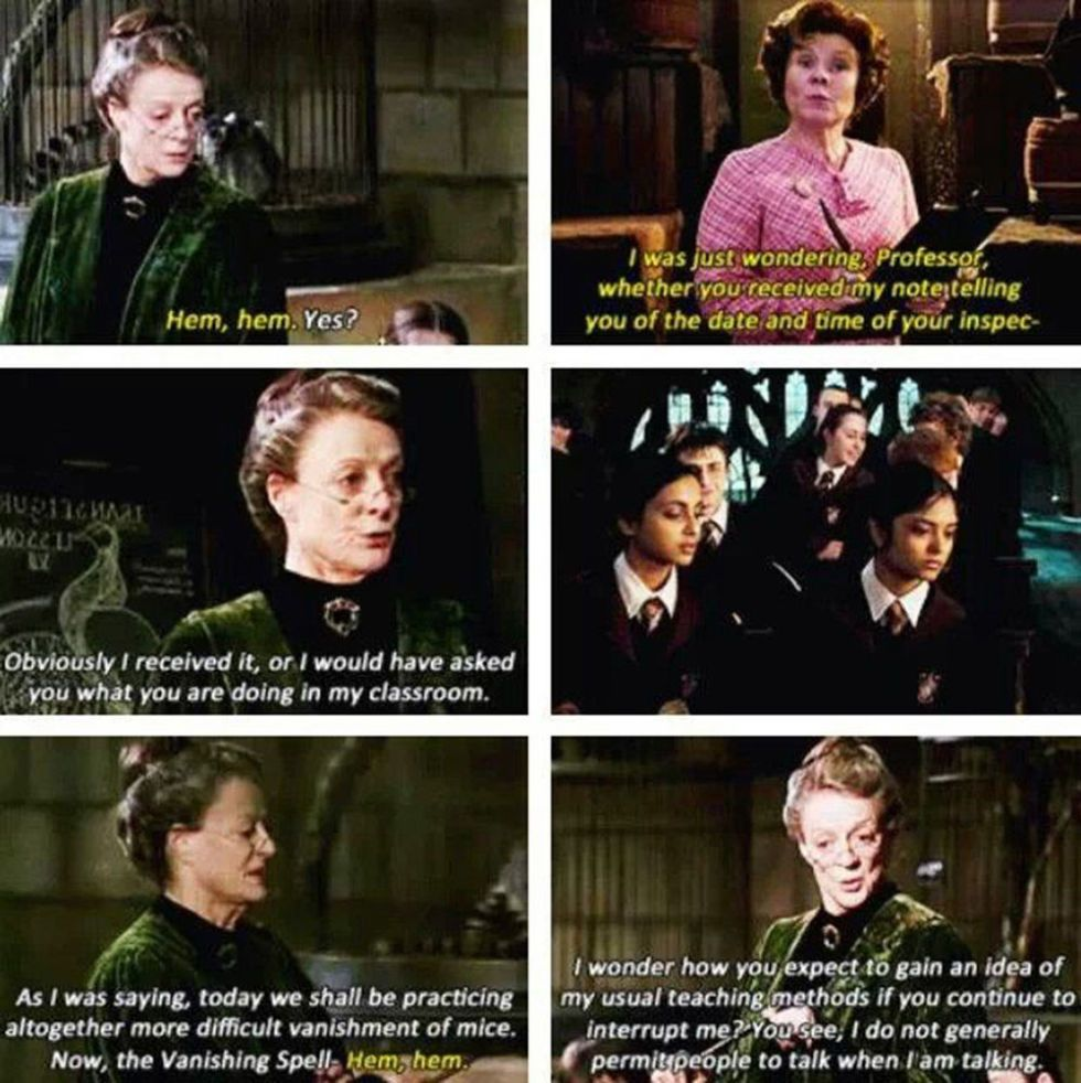 times professor mcgonagall proved she was the best character in