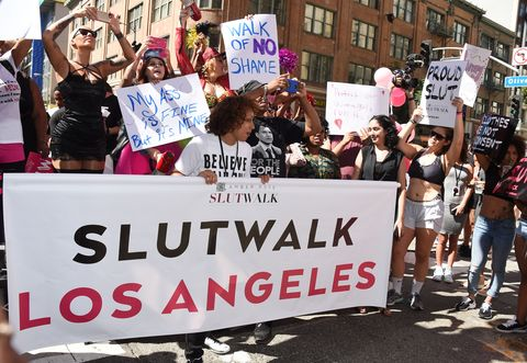Amber Rose at Slutwalk