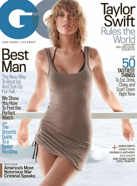 Taylor Swift for GQ