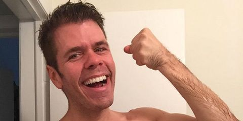 Perez Hilton faces huge backlash after posting shower picture with his son