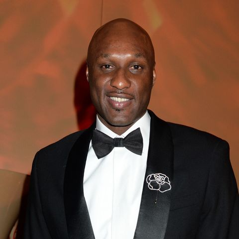 """Lamar Odom is making a """"miraculous recovery"""" as Kim Kardashian reports he is smiling"""