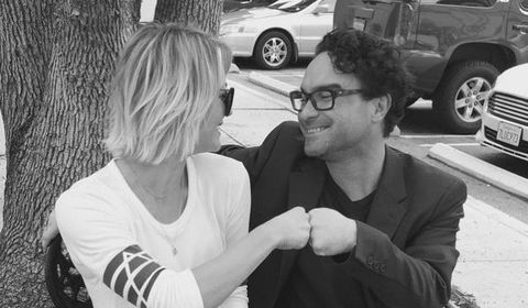 Do penny and leonard dating in real life