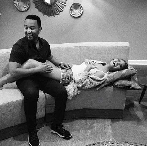 Chrissy Teigen and John Legend announced her pregnancy in the cutest way