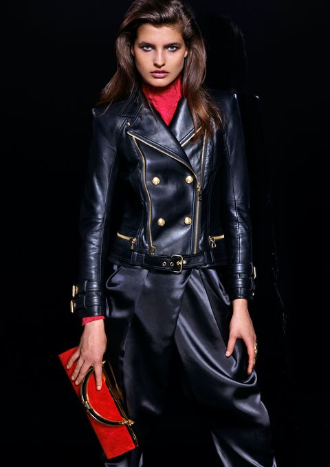Clothing, Sleeve, Jacket, Textile, Collar, Outerwear, Style, Leather, Fashion, Bag,