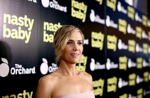 Kristen Wiig at the premiere of Nasty Baby