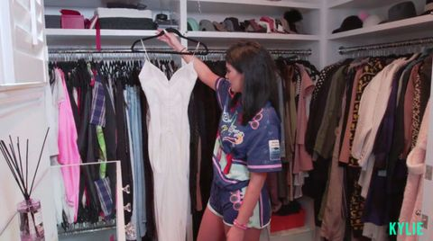 Kylie Jenner In Her Clothes Wardrobe