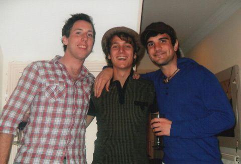 Best friends: Paul, Joe & Jam