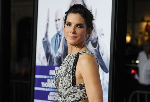 Sandra Bullock at the Our Brand is Crisis premiere