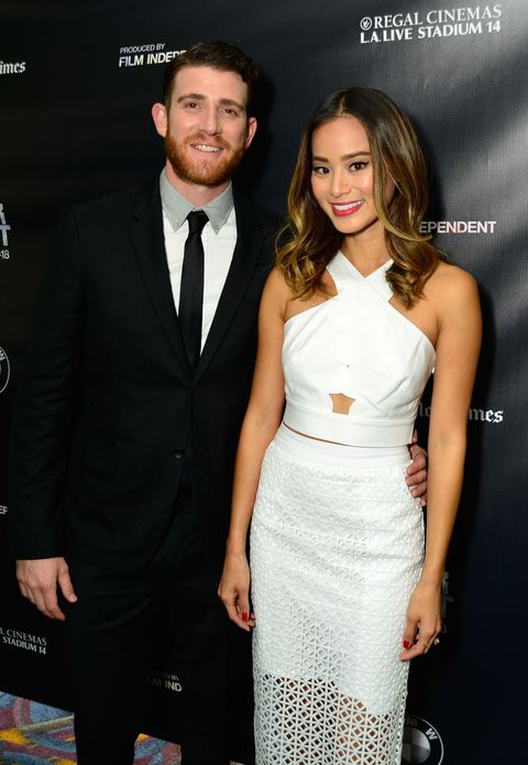 Jamie Chung and Bryan Greenberg at the Los Angeles Film Festival
