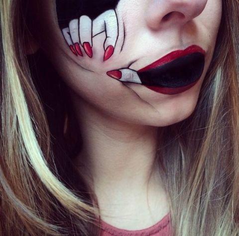 Halloween Lip Art Ideas By Laura Jenkinson