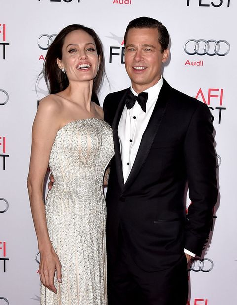 1e6b54c7c85d Angelina Jolie s custom sparkly Versace dress is all kinds of wonderful
