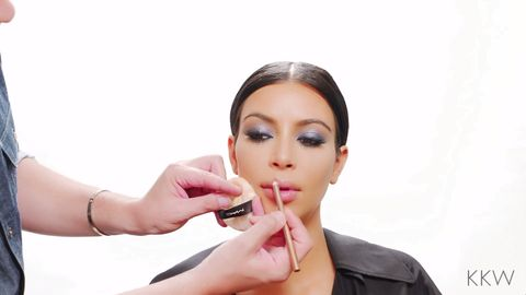 Kim Kardashian's top three lip contouring tricks