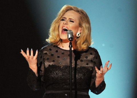 Adele performing Hello for the first time