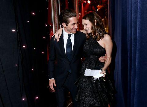 Carey Mulligan and Jake Gyllenhaal at the Hollywood Film Awards