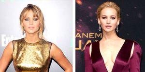 Jennifer Lawrence's Hunger Games transformation