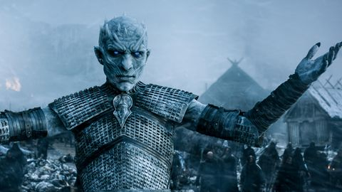 White Walkers on Game of Thrones