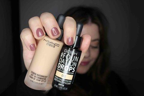 Finger, Brown, Skin, Nail, Font, Black hair, Beauty, Peach, Nail care, Thumb,