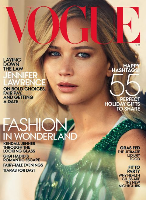Jennifer Lawrence talks dating mean guys, private planes and tattoos with Vogue