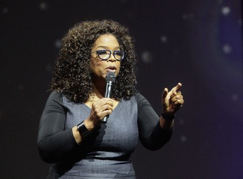 Oprah Winfrey at the Quickbooks Connect Books Conference