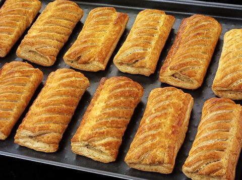 The introduction of sausage rolls is causing confusion in America