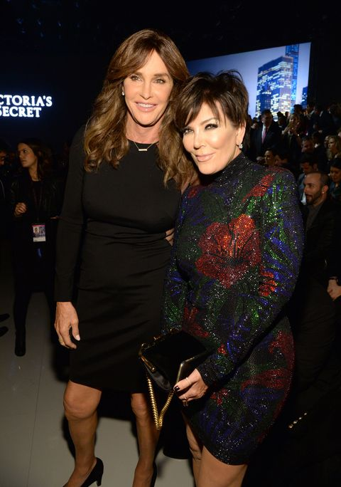 Kris and Caitlyn Jenner reunite for the Victoria's Secret Fashion Show