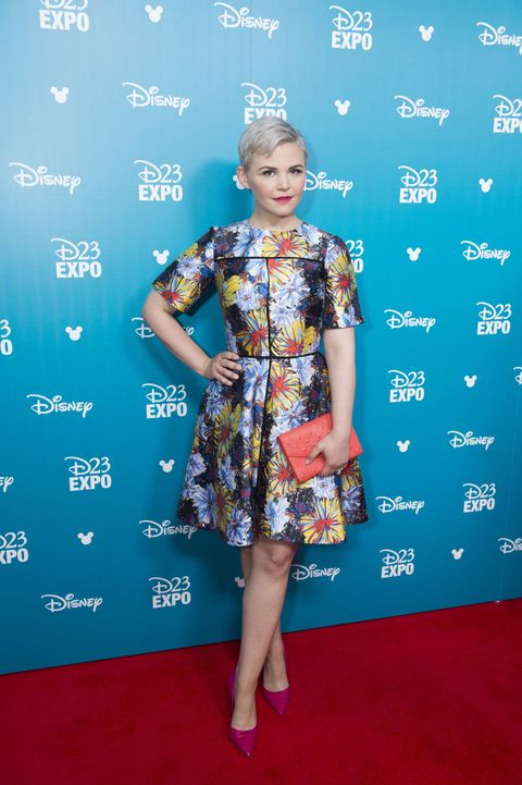 Ginnifer Goodwin at the Disney expo 2015