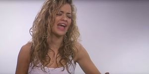 This video of a teenage Rita Ora auditioning for Eurovision is everything