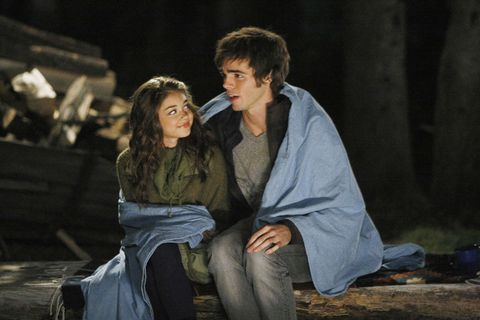 Dylan, played by Reid Ewing, on Modern Family with Haley