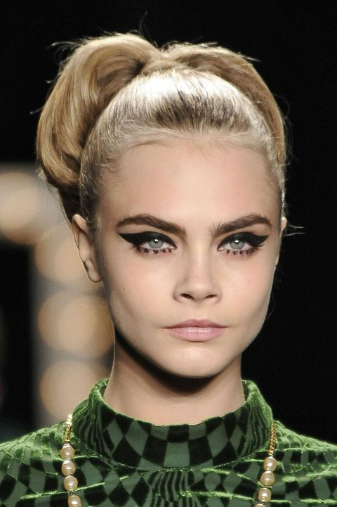 best catwalk model hairstyles