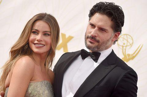 Joe Manganiello and Sofia Vergara at the Emmys