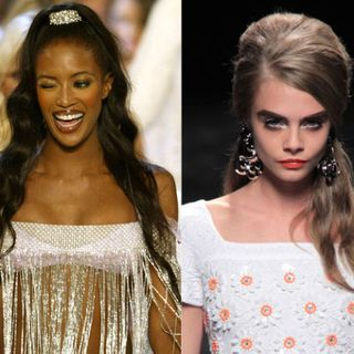 Hairstyles of Models