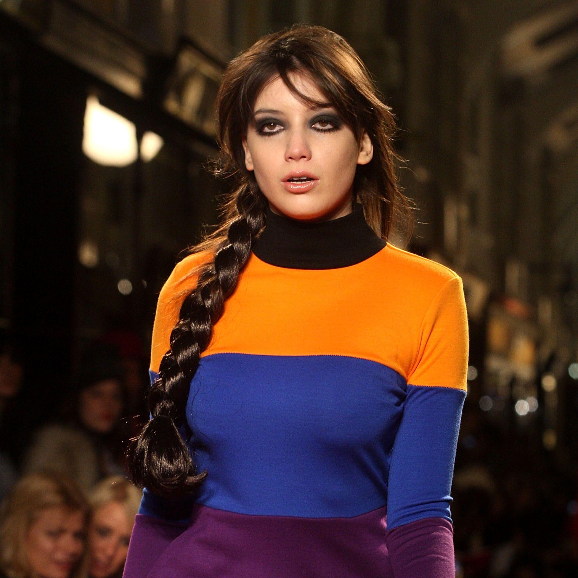 best catwalk model hairstyles