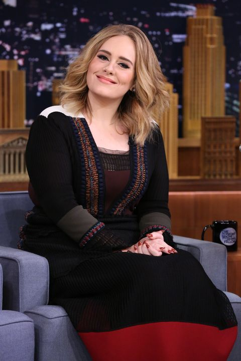 Adele on the tonight show with Jimmy Fallon