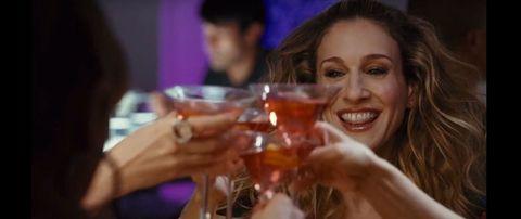 Fun, Alcohol, Drink, Facial expression, Alcoholic beverage, Barware, Amber, Tableware, Distilled beverage, Drinkware,