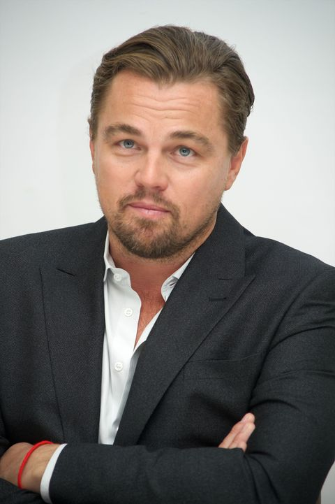 Lovely Leonardo DiCaprio looks dapper while discussing his new movie