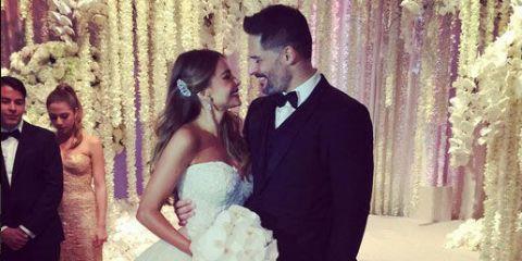 Sofia Vergara and Joe Manganiello's wedding: the Instagram pictures