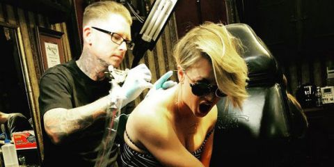 Kaley Cuoco admits regret as she covers up her wedding date tattoo