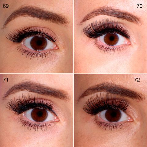 100 false lashes tested on ONE eye: picture reviews