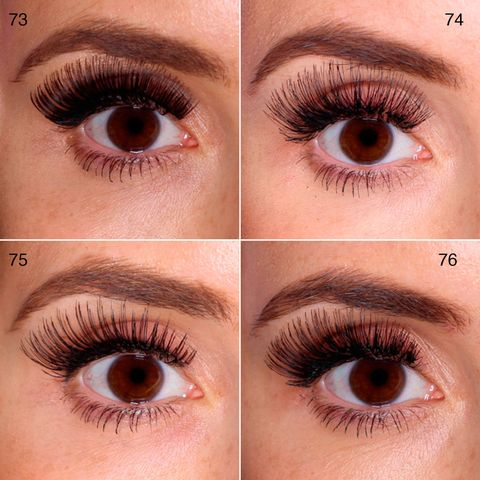 b3f183841cc Nouveau Lashes – Volume Style 4, £6.99, Nouveaulashes.com 78. QVS Natural  Look Lashes – 12, £2.99, Xtras.co.uk 79. QVS Natural Look Lashes – 14,  £2.99, ...
